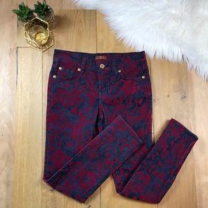 7 For All Man Kind Demask Velvet Jeans #484